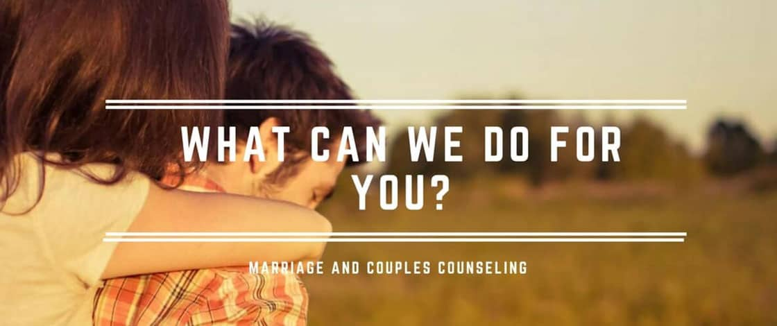 Marriage & Couples Counseling